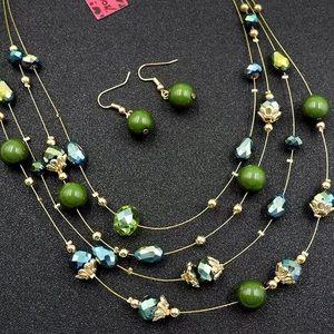 Emerald designer set